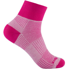 Wrightsock Coolmesh II Quarter - Chaussettes - rose